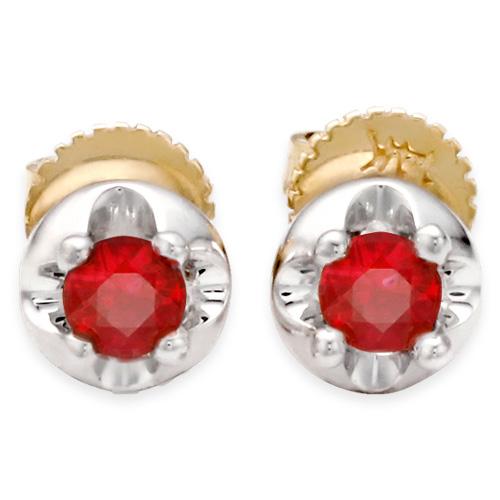 3mm Natural Garnet Birthstone Earrings Tiara Earrings