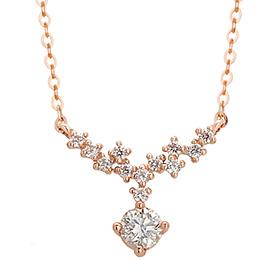 "<b><font color=""b400b0"" >[Part 1 Modern emotions]</font></b> <br> 14k / 18k Lacthea Natural Diamond Necklace"