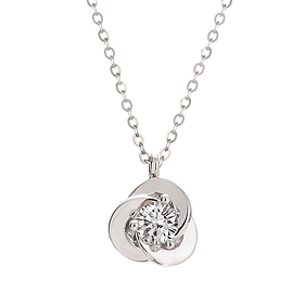 [Part 1 Modern emotions] <br> 14k / 18k Amorris 0.1ct Diamond Necklace