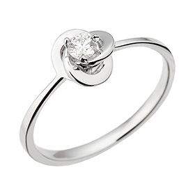 "<b><font color=""b400b0"" >[Part 1 Contemporary Emotion]</font></b> <br> 14k / 18k Amorris natural diamond ring [No. 11 only overnightdelivery]"