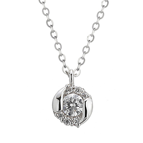 "<b><font color=""b400b0"" >[Part 1 Contemporary Emotion]</font></b> <br> 14k / 18k Briana Natural Diamond Necklace"