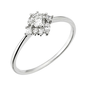 "<b><font color=""b400b0"" >[Part 1 Contemporary Emotion]</font></b> <br> 14k / 18k Cordelia natural diamond ring"