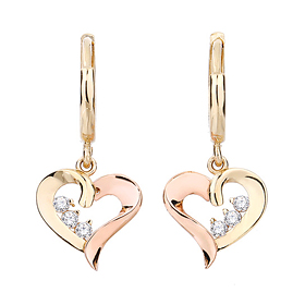 14K / 18K Lire Love earring