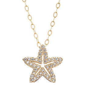 14K Rising Star Necklace