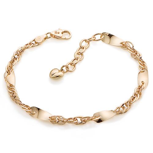 14K / 18K lanoche bracelet (overnightdelivery)