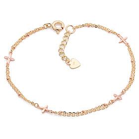 14K / 18K star flower bracelet