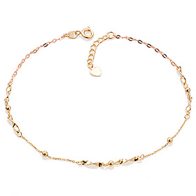 14K / 18K Rally poly anklet