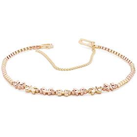 14K / 18K Butterfly Garden bracelet
