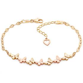 14k / 18k Rococo butterfly bracelet