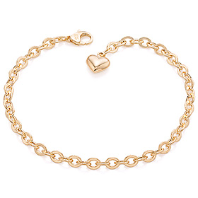 14k / 18k cord hollow (small) bracelet