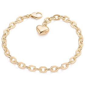 14k / 18k medium hollow bracelet