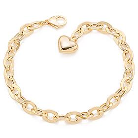 14k / 18k cornice hollow (large) bracelet