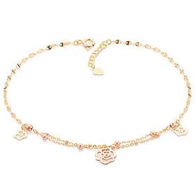 14k / 18k sweet rose anklet