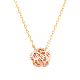 14K / 18K Jazz Rose Necklace [overnightdelivery]
