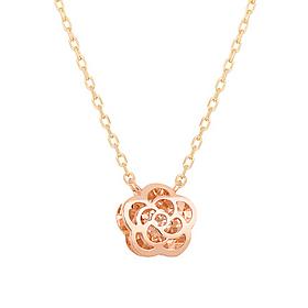 14K Jazz Rose Necklace [overnightdelivery]