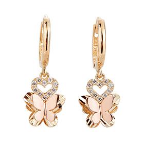 14K / 18K Ellis Butterfly earring [overnightdelivery]