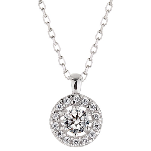 "<b><font color=""b400b0"" >[Part 1 Contemporary Emotion]</font></b> <br> 14K / 18K Daphne Natural Diamond Necklace"