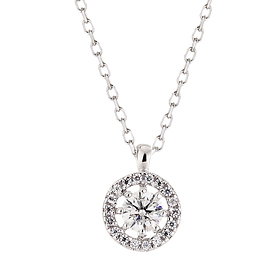 "<b><font color=""008997"" >[Part 2 Modern Emotions]</font></b> <br> 14K / 18K Daphne Natural Diamond Necklace"