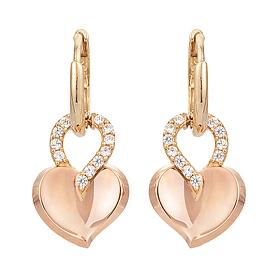 14K / 18K Berry Heart earring