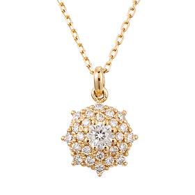 "<b><font color=""b400b0"" >[Part 1 Modern emotions]</font></b> <br> 14k / 18k Berus 0.1ct Diamond Necklace"