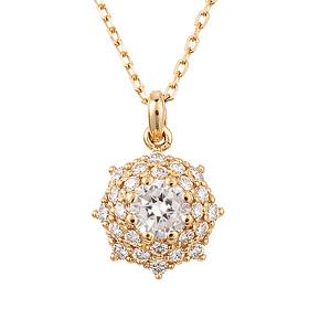 "<b><font color=""b400b0"" >[Part 2 Modern emotions]</font></b> <br> 14k / 18k Berus 0.2ct diamond necklace"