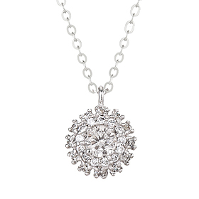 "<b><font color=""b400b0"" >[Part 1 Contemporary Emotion]</font></b> <br> 14K / 18K Elga Part 1 Diamond Necklace"