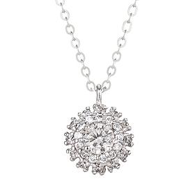 "<b><font color=""b400b0"" >[Part 1 Modern emotions]</font></b> <br> 14K / 18K Elga 0.1ct Diamond Necklace"