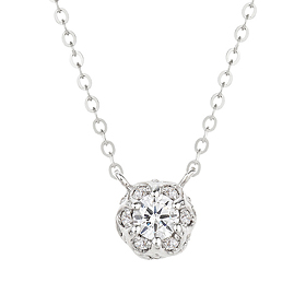 "<b><font color=""b400b0"" >[Part 1 Contemporary Emotion]</font></b> <br> 14K / 18K Vivaldi Part 1 Diamond Necklace"