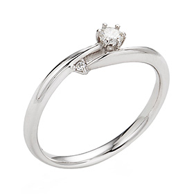 "<b><font color=""b400b0"" >[Part 1 Contemporary Emotion]</font></b> <br> 14K / 18K Nostelgia Part 1 Diamond Ring [No. 11 only overnightdelivery]"