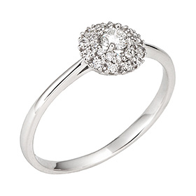 "<b><font color=""b400b0"" >[Part 1 Contemporary Emotion]</font></b> <br> 14K / 18K Elga Part 1 Diamond Ring"