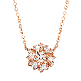 "<b><font color=""b400b0"" >[Part 1 Contemporary Emotion]</font></b> <br> 14K18K Love Affair Part 1 Diamond Necklace"