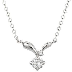 "<b><font color=""b400b0"" >[Part 1 Modern emotions]</font></b> <br> 14K18K Beat Art 0.1ct Diamond Necklace"
