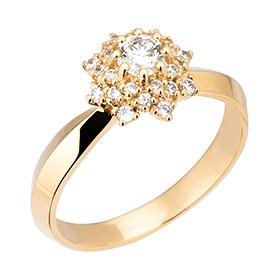 "<b><font color=""b400b0"" >[Part 2 Modern emotions]</font></b> <br> 14K18K Berus 0.2ct diamond ring"