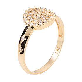 14K / 18K medium gold ring
