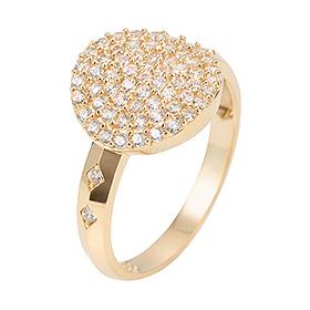 14K / 18K large gold ring