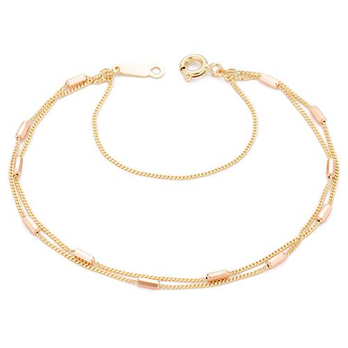 14K / 18K Sirius two lines bracelet