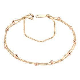 14K / 18K Abba two lines bracelet