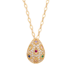 14k 100th Anniversary Necklace / TV Chosun Drama Special