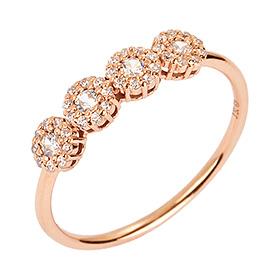14K / 18K Irene Gold Ring
