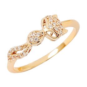 14K / 18K Foxy Girl Gold Ring