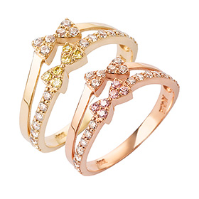 14K / 18K Winky Ribbon Gold Ring