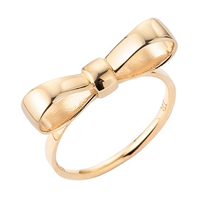 14K / 18K Anna Ribbon Gold Ring