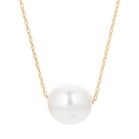 14K Selena Pearl Necklace [overnightdelivery] [Swarovski Stone]