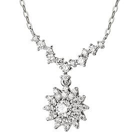 "<b><font color=""b400b0"" >[Part 1 Modern emotions]</font></b> <br> 14K / 18K Iberian 0.1ct Diamond Necklace"