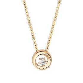 14K / 18K Gold Moon Necklace [overnightdelivery]