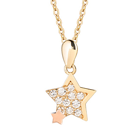 14K / 18K Milky Way Necklace (overnightdelivery)