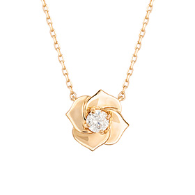 18K Bane Rose -yellow Necklace