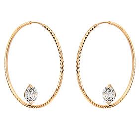 14K / 18K Eclipse earring