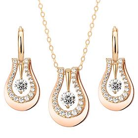 14K / 18K Love Messenger set [Necklace + earring]