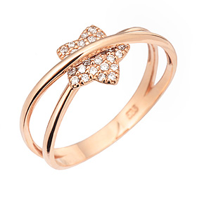 14K / 18K starlight ring